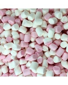 mini-marshmallows roze-wit 1kg