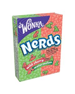 Wonka Nerds box wild cherry - watermelon