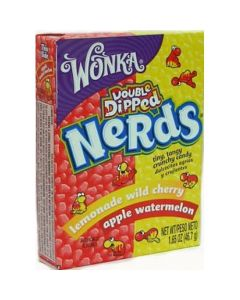 Wonka Nerds box Double-Dipped